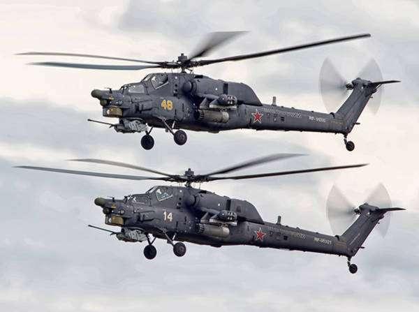 Начало серийного производства вертолётов Ми-28НЭ