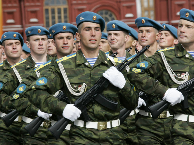Россия намерена увеличить численность своих ВДВ до 60 тыс человек