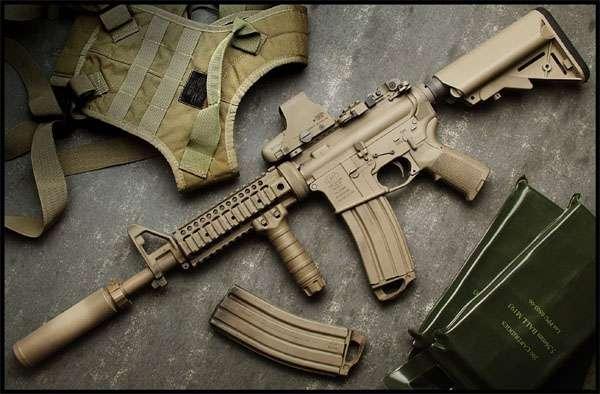 В США заявляют, что создали особое покрытие, которое позволит обойтись без чистки стрелкового оружия