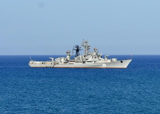 Сторожевой корабль Черноморского флота Сметливый вышел из Севастополя в Средиземное море