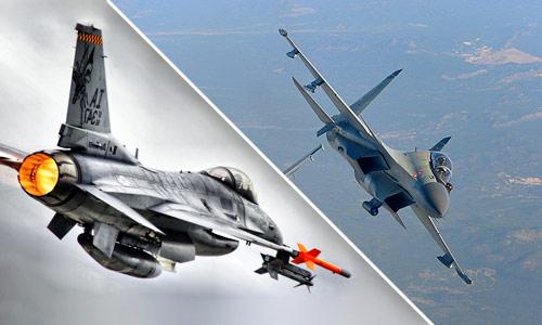 Су-30МКИ и F-16 сравнение