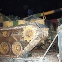 Турция перебросила около 80 танков в город Юксекова на границе с Ираном