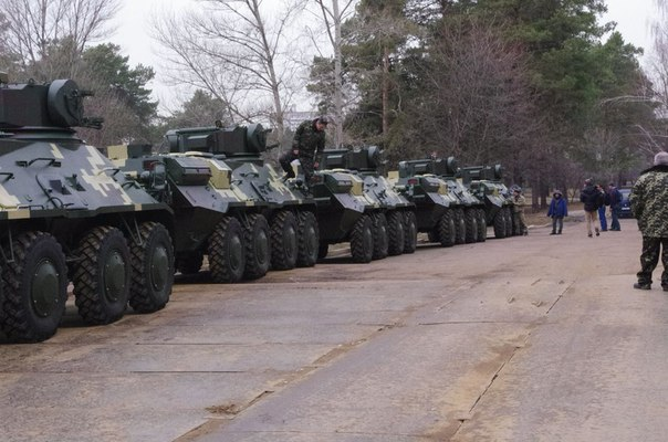 Украина отправила партию БТР-3Е1 в Таиланд