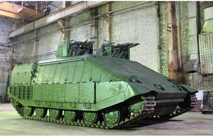 Украина начинает испытания экспериментального танка «Азовец»