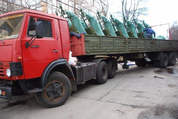 Украинская армия получила первую партию новых минометов М120-15 «Молот»