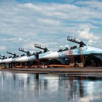Эскадрилья новейших истребителей Су-30СМ развернута в Крыму