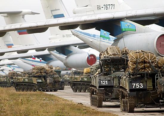 десантники России и Таджикистана провели совместные учения