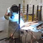 Производство лекал решеток для украинской бронетехники