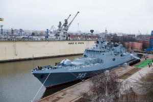 Новый корабль ВМФ России Адмирал Григорович