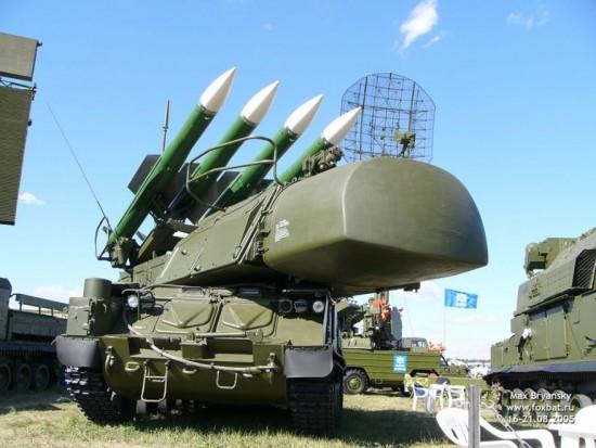 В Мьянму тайно прибыли новейшие российские комплексы противовоздушной обороны Бук-М