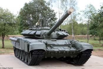Армия РФ заказала модернизацию 154 танков до уровня Т-72Б3
