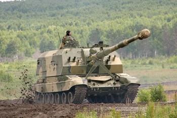 Российская армия примет на вооружение новые самоходные гаубицы 2С19-М2 «Мста-С»
