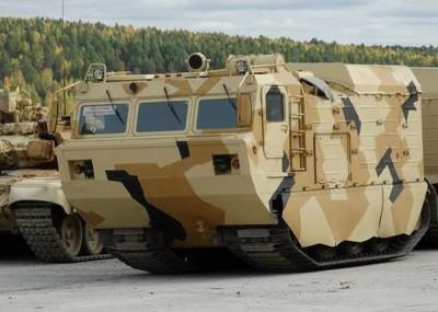 двухзвенный унифицированный тягач АРКТИКА уже приступил к испытаниям