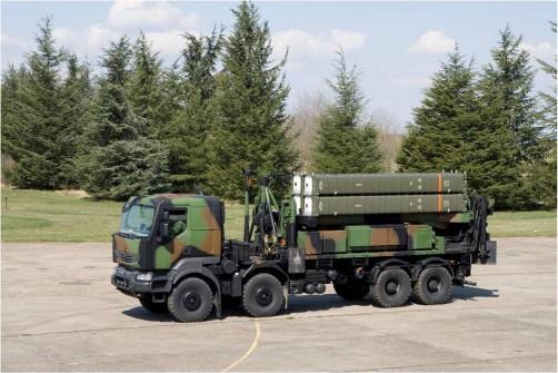 ВВС Франции получили крайний комплекс противовоздушной обороны SAMP/T