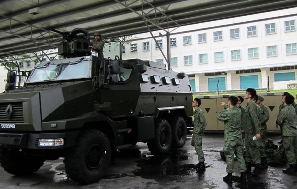 Peacekeeper - надежная бронемашина в Сингапуре