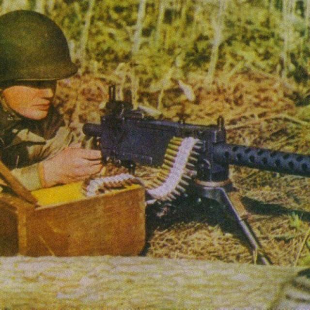 W+F M1919 пистолет-пулемет