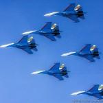 """Авиагруппа """"Русские Витязи"""" отмечает 25 лет со дня создания"""