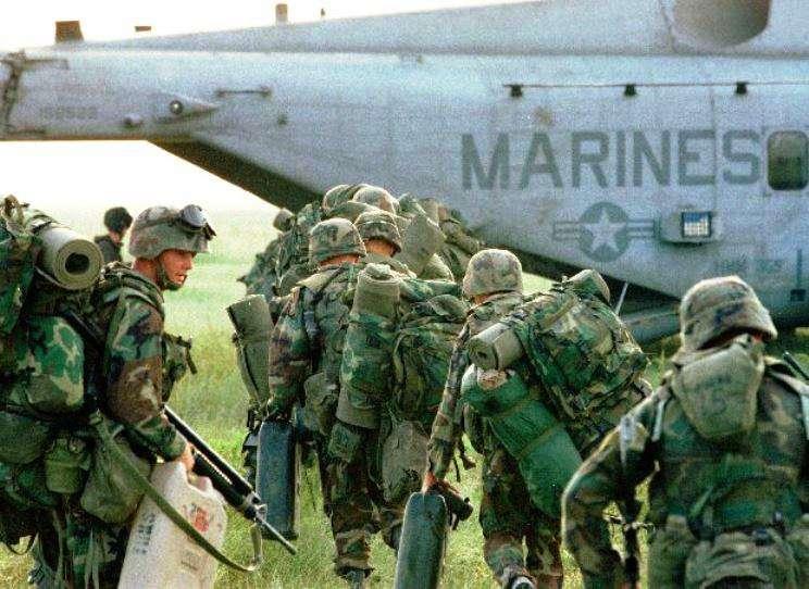 Авиационная техника морской пехоты США находится в неисправном состоянии