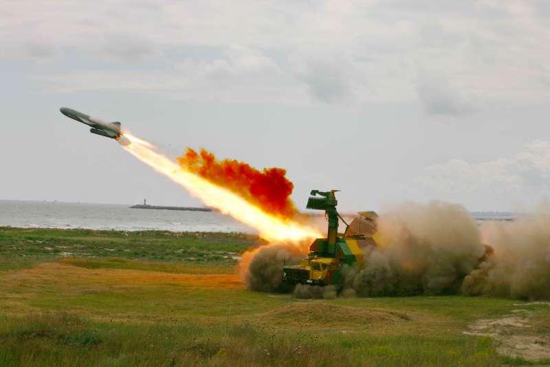 Береговой ракетный комплекс «Рубеж»