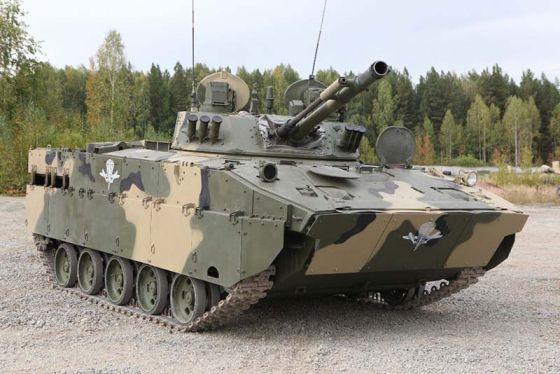 Боевая гусеничная плавающая машина десанта БМД-4М