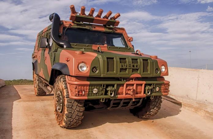 Бронеавтомобиль Iveco LMV стал победителем в бразильском тендере на поставку 32 бронемашин