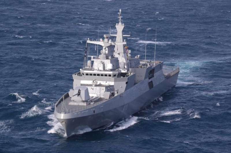 ВМС Алжира получили первый фрегат МЕКО А200 АN