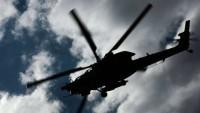 Вертолётчики ЮВО отработали ракетные удары по наземным целям