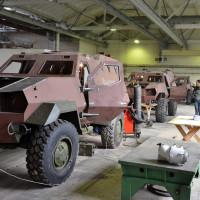 Во время испытаний украинских бронемашин Дозор-Б образовались трещины в бронекорпусе