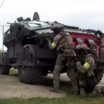Во время спецоперации ФСБ в Дагестане был замечен новый бронеавтомобиль «Фалькатус»