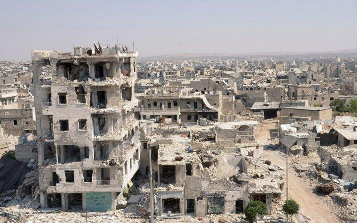В Алеппо под авиаудар попала больница