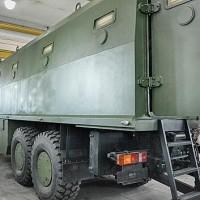 В Киеве разработали новый бронеавтомобиль на шасси автомобиля МАЗ-6317