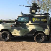 В Республике Беларусь создан дистанционно-управляемый огневой комплекс «Адунок-В»