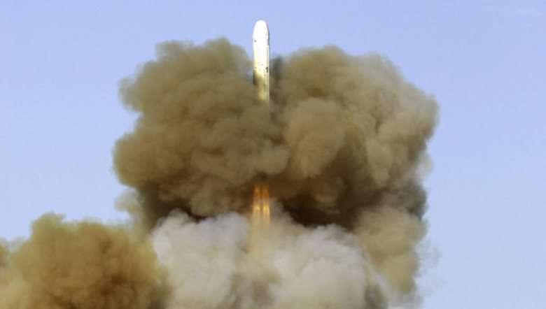 В России испытана ракета РС-18 с гиперзвуковым боевым блоком