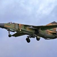 В Сирии потерпел крушение МиГ-23