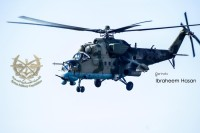 В Сирии удалось сфотографировать вертолет Ми-35М с комплексом «Витебск»