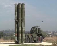 Зенитный ракетный комплекс С-400 на российской авиабазе Хмеймим в Сирии