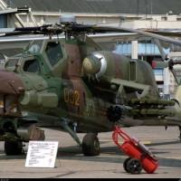 Испытание бронезащиты Ми-28 с человеком внутри кабины