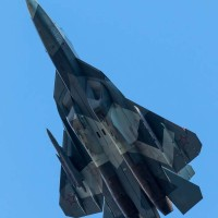 Испытания ПАК ФА с подвешенным ракетным вооружением