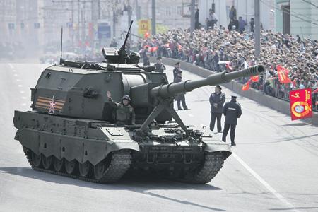 """Борисов: """"Коалиция-СВ"""" после поставок в армию РФ будет иметь большой экспортный потенциал"""