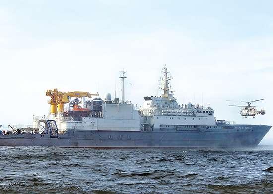 """Латвия """"озабочена"""" появлением российского спасательного судна в 5 милях от морских границ страны"""