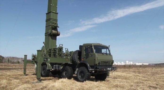 На вооружение российской армии поступили новые комплексы радиоэлектронной борьбы «Мурманск-БН»
