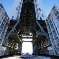 На космодроме Восточный установлена ракета для первого запуска