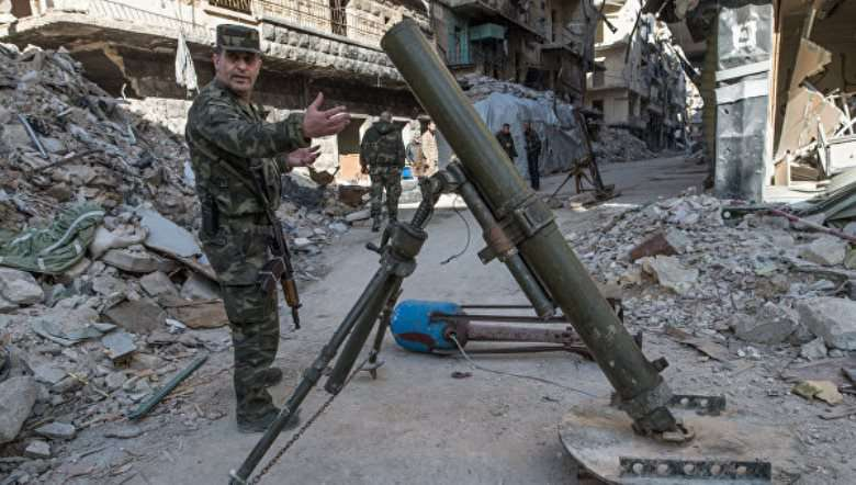 Ожесточённые бои идут в районе сирийского Алеппо
