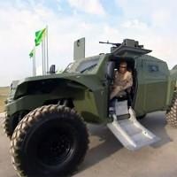Президент Туркменистана лично опробовал новый израильский бронеавтомобиль «Combat Guard»