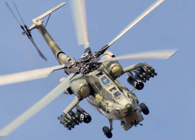 Причиной крушения Ми-28Н в Сирии назвали ошибку пилотов