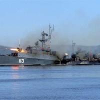 Разнородные силы СФ провели учение в Баренцевом море