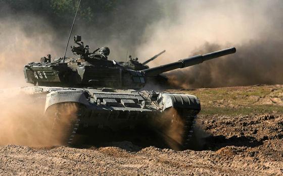 Танк Т-72Б на вооружении ВС Беларуси