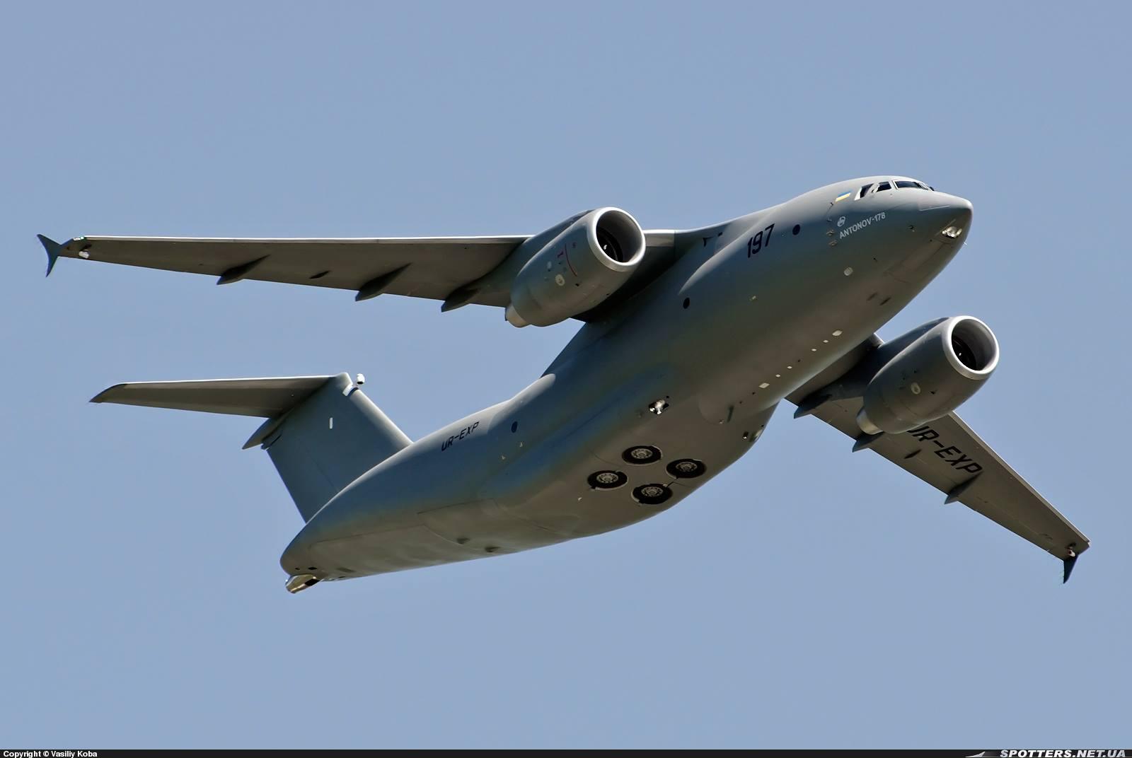 Украинский военно-транспортный самолет Ан-178 может обойти российский Ил-214