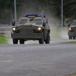 Фото подразделения военной полиции Словакии во время учений «Ochranca 2016»