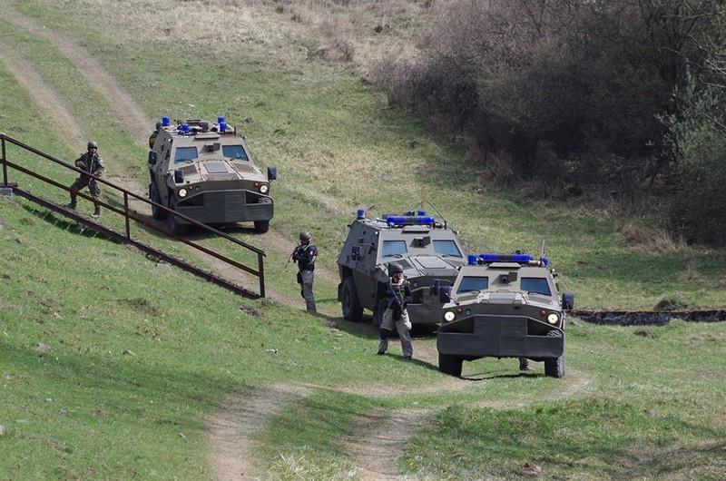 Фото подразделения военной техники